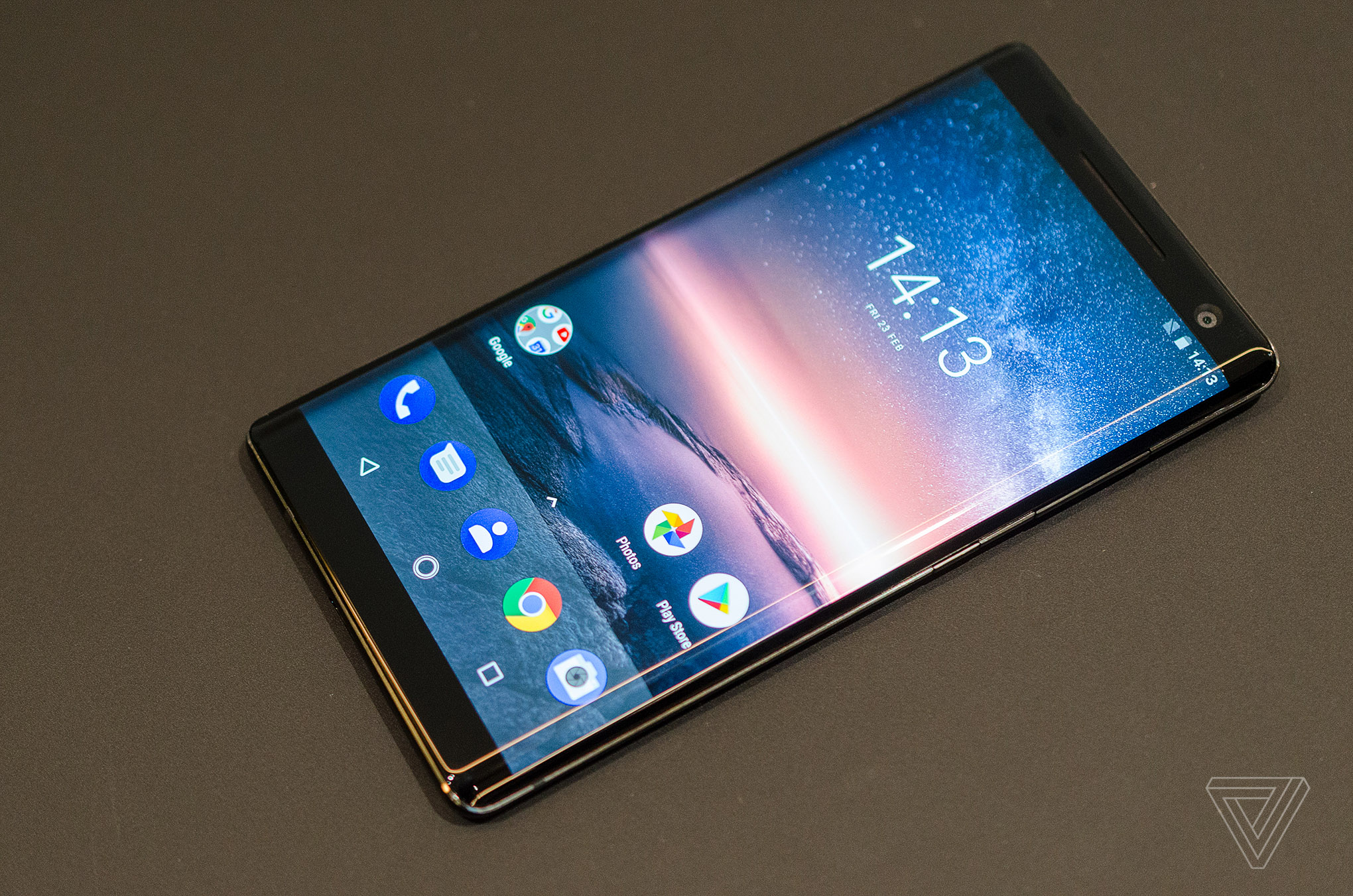 Nokia 8 Sirocco sous Android One