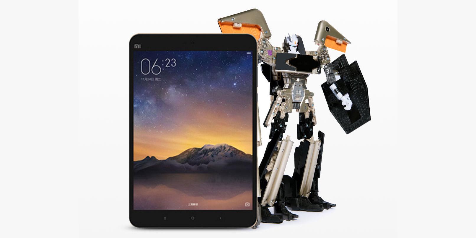 Xiaomi transforme sa tablette en Transformers