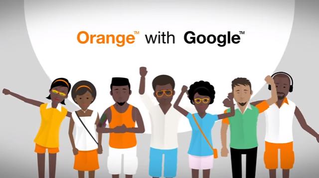 Orange et Google s'associe pour lancer un smartphone pour l'Afrique