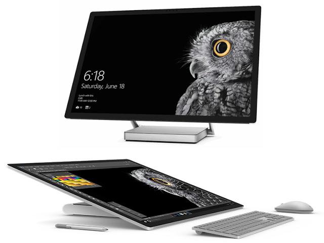 Microsoft Surface Studio : l'ordinateur qui se positionne devant le Macintosh