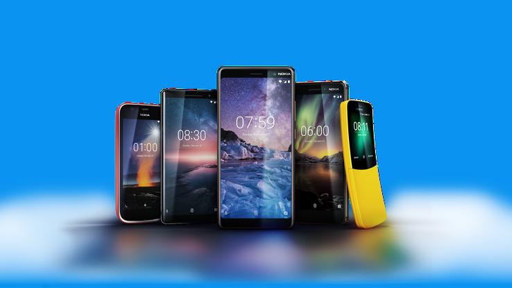 MWC 2018 : Nokia y debarque avec 5 nouveaux téléphones
