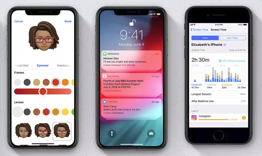 iOS 12 : voici les nouvelles fonctionnalités de l'iPhone