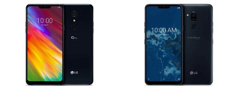 Le LG G7 Fit et le LG G7 One