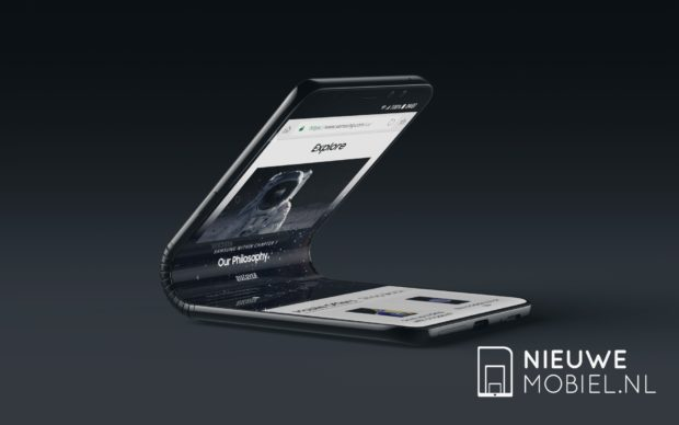 Samsung smatphone pliable galaxy F