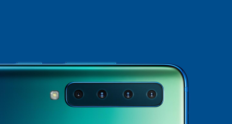 Samsung Galaxy A9 : le premier smartphone au monde équipé de 4 caméras arrières