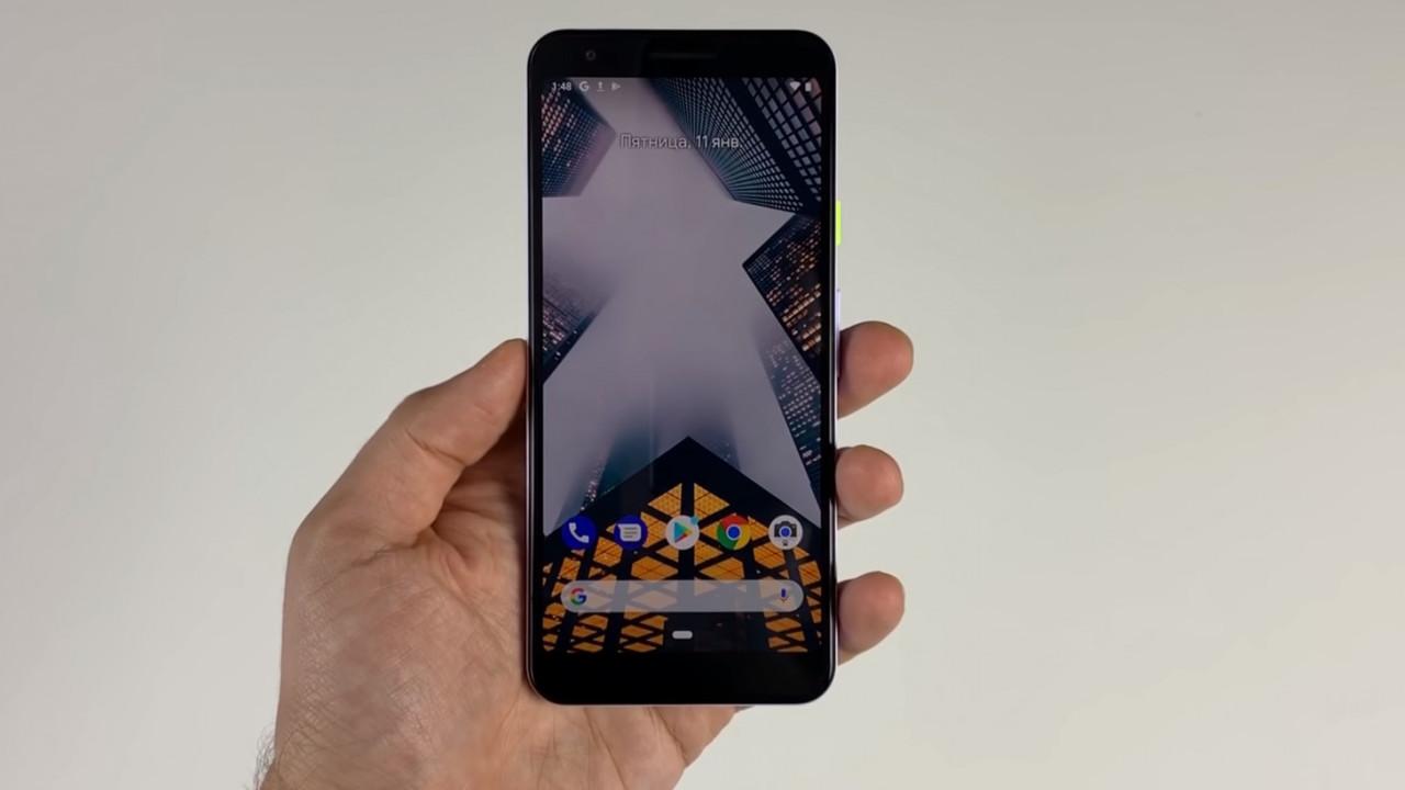 google pixel 3 lite fuite