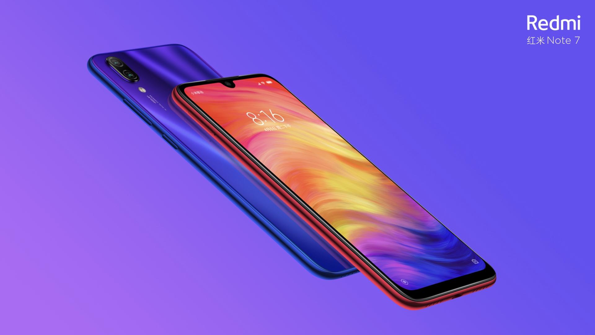 Xiaomi lance le Redmi Note 7 équipé de 48 mégapixels