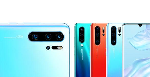 Huawei P30 Pro et P30