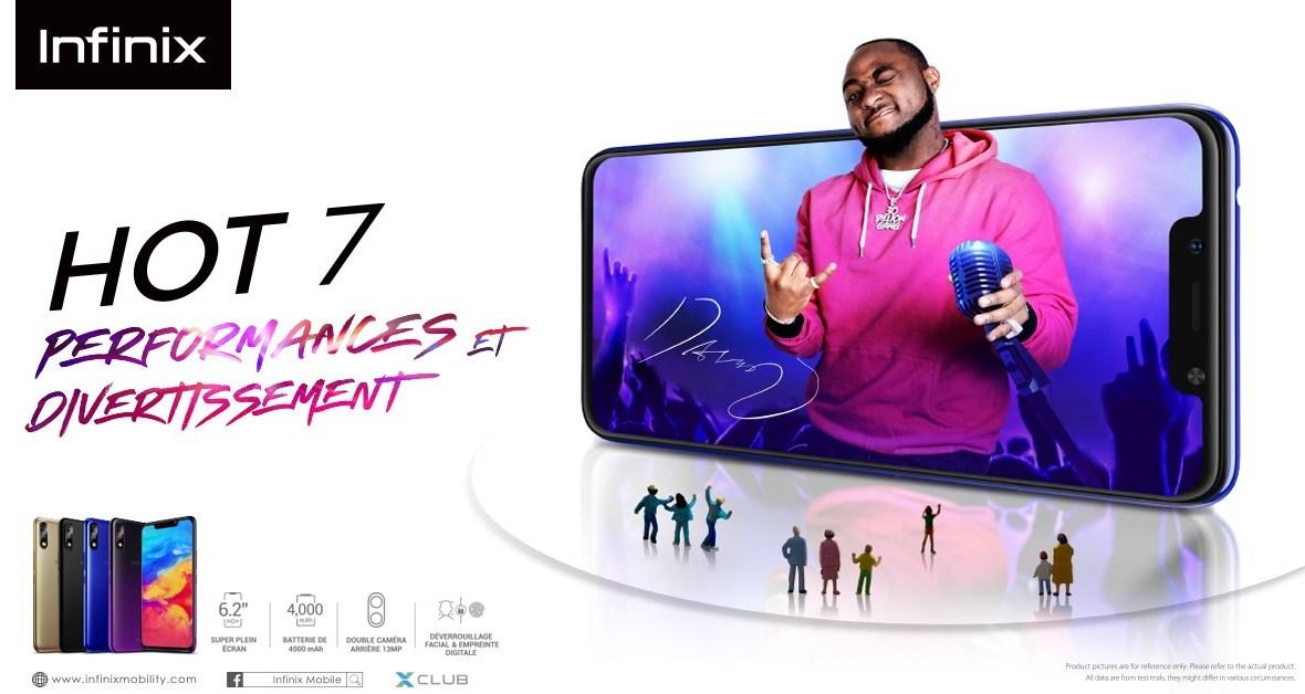 Infinix HOT 7 : un smartphone qui assure performances et divertissements
