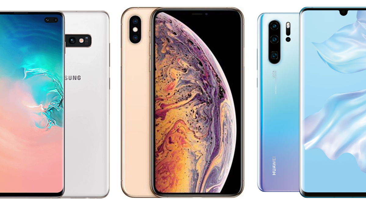 Comparatif : Galaxy S10+ vs iPhone XS Max vs Huawei P30 Pro