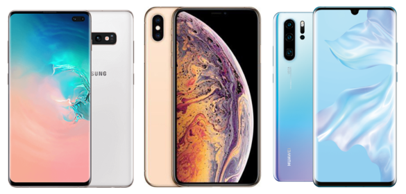 Galaxy-S10+-vs-iPhone-XS-Max-vs-Huawei-P30-Pro