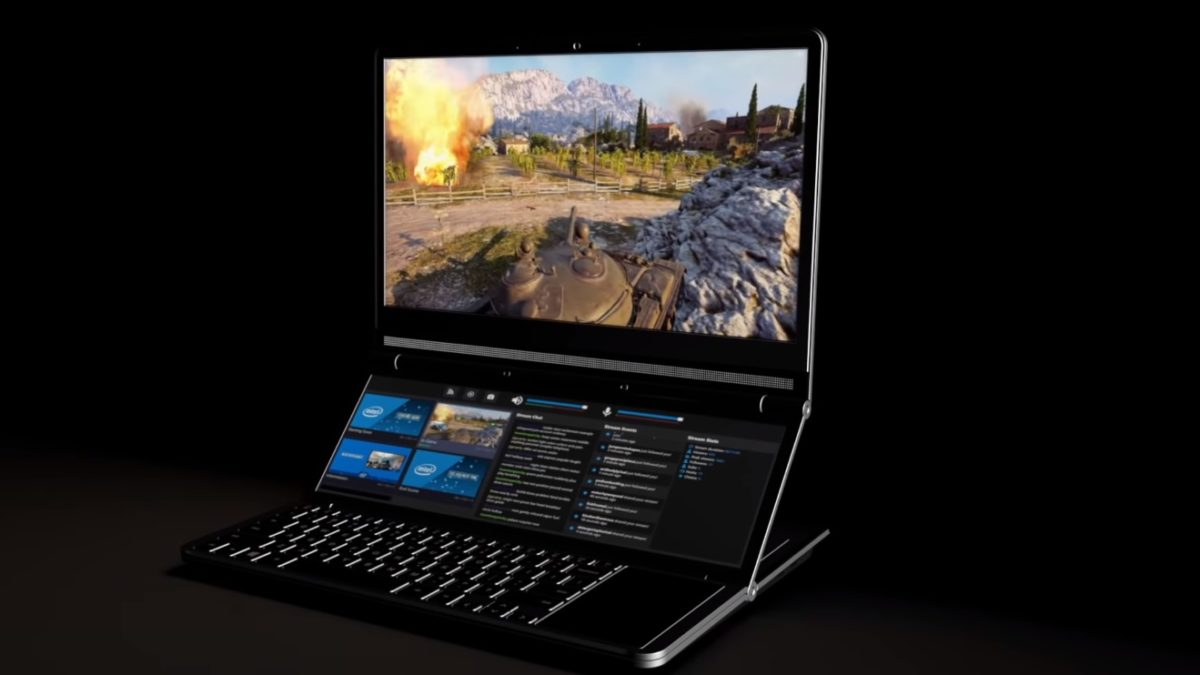 Le Honeycomb Glacier d'Intel est un prototype d'ordinateur portable à double écran doté ajustable