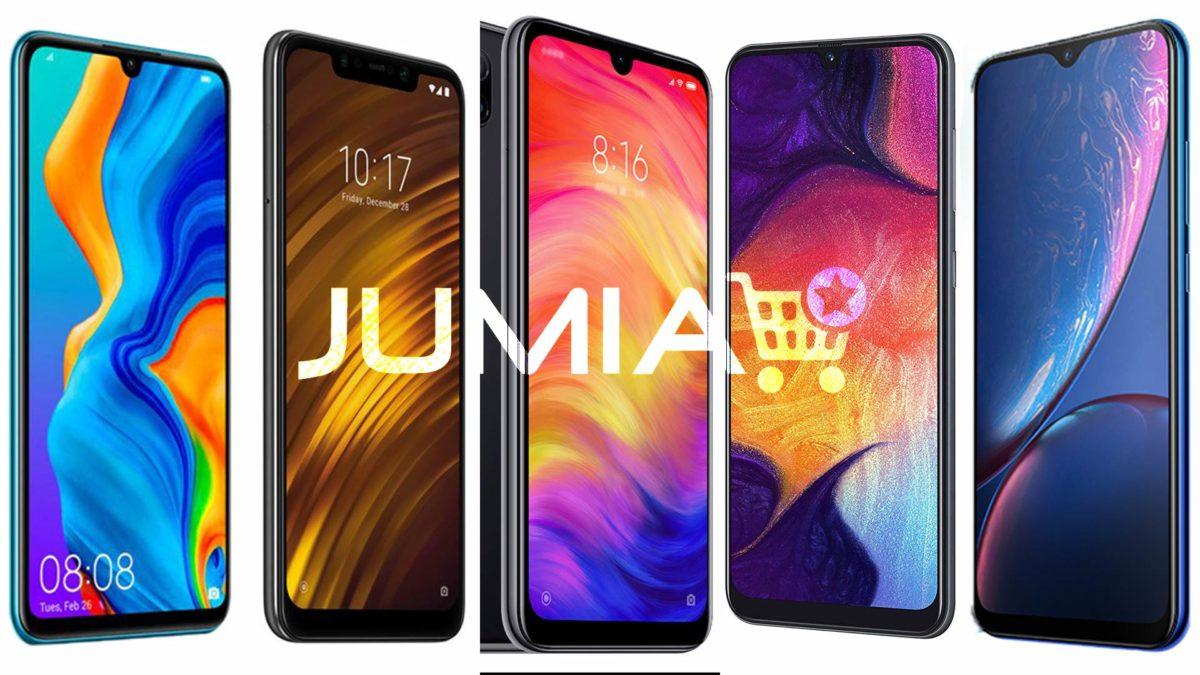 Guide d'achat Jumia : Top 5 smarphones moins de 200 000 Fr