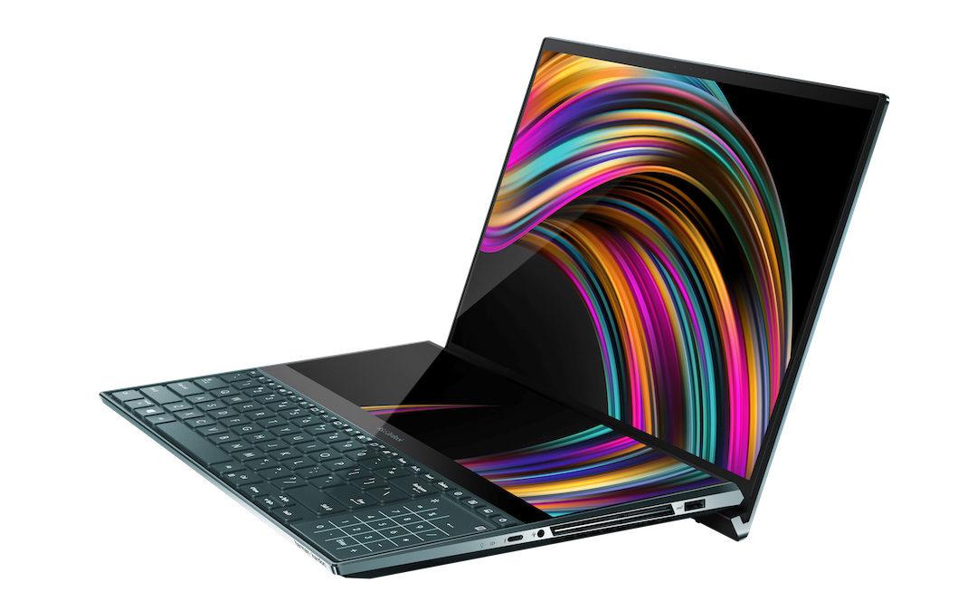 L'Asus ZenBook Pro Duo offre deux écrans 4K assez innovants
