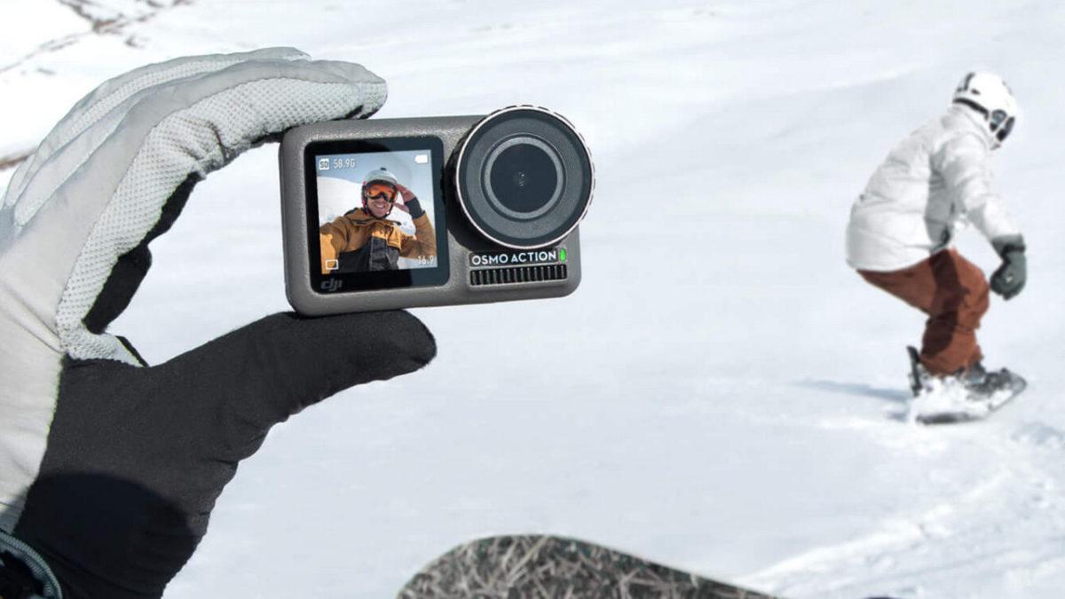 DJI Osmo Action : une caméra d'action pour rivaliser avec GoPro