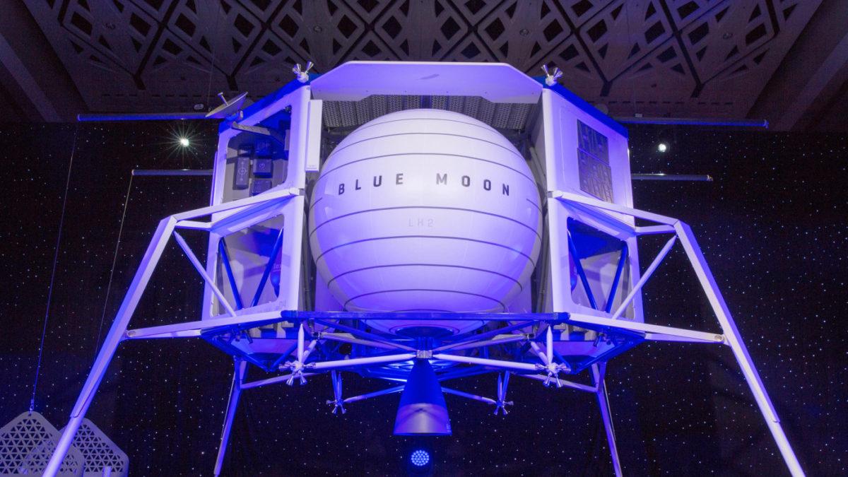 Jeff Bezos dévoile Blue Moon son alunisseur pour conquérir la Lune