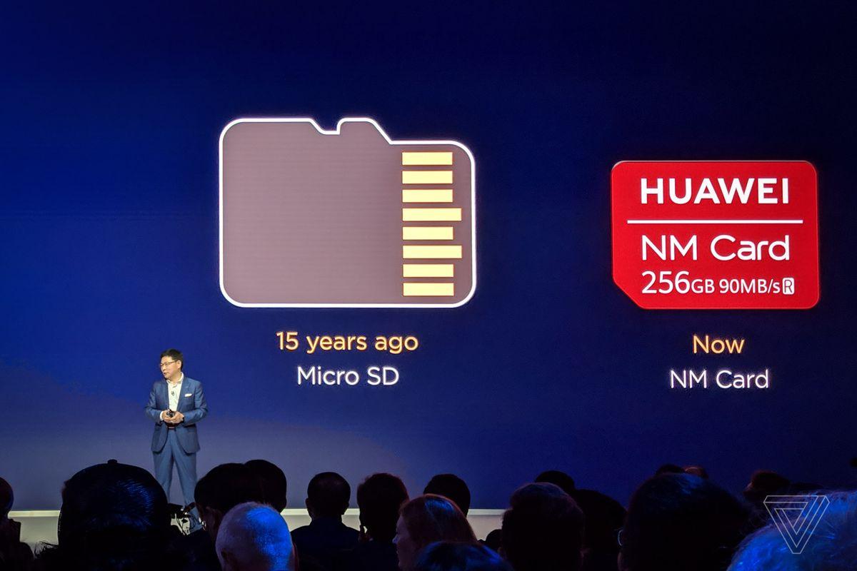 Cart mémoire nano de Huawei