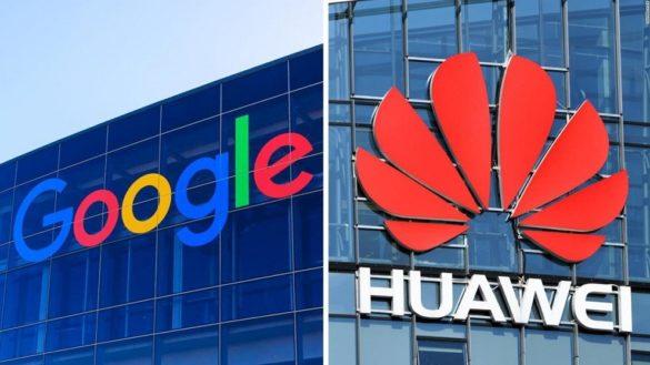Google et huawei