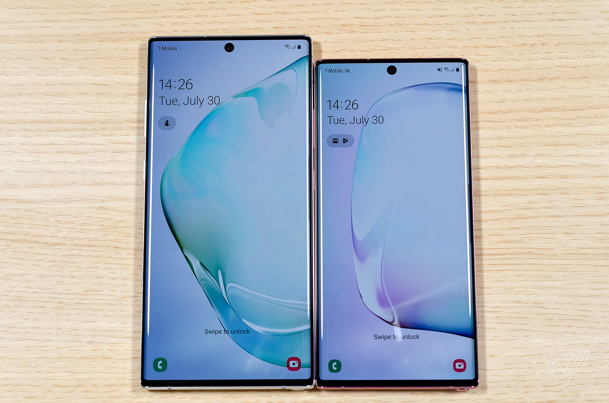 Galaxy Note10+ et Note 10