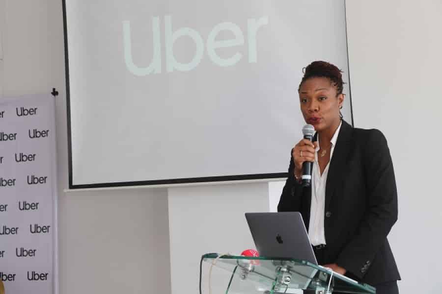 Conférence de presse de lancement d'Uber à Abidjan