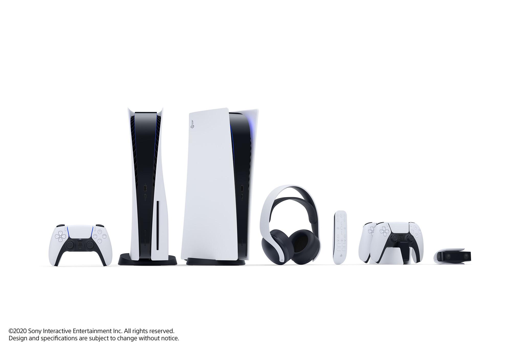 Les premières accessoires de la PS5